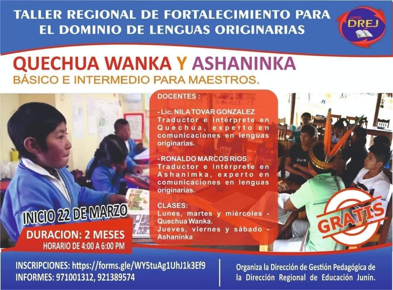 Dirección Regional de Educación Junín